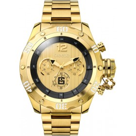 Breeze Bombshell 47mm Chronograph Gold Bracelet 210371.2