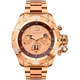 Breeze Bombshell 47mm Chronograph Rose Gold Bracelet 210371.4
