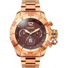 Breeze Bombshell 47mm Chronograph Rose Gold Bracelet 210371.8