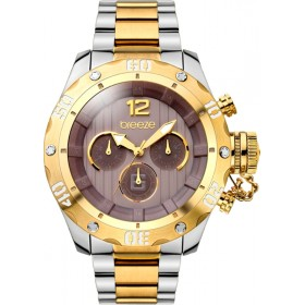 Breeze Bombshell 47mm Chronograph Gold Two tone Bracelet 710371.2