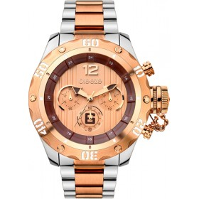 Breeze Bombshell 47mm Chronograph Rose Gold  Two tone bracelet 710371.4