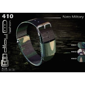 DILOY Fashion Military Nato Λουράκι 410