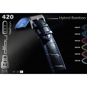 DILOY Hybrid Croco αδιάβροχο λουράκι 420