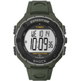 TIMEX Expedition 48mm Vibration Alarm Rubber Strap T49951