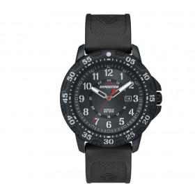 TIMEX Expedition 38mm Black Rubber Strap T49994