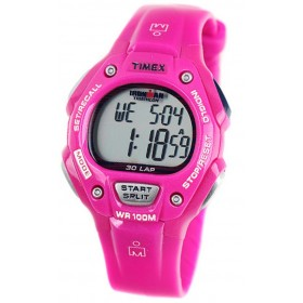 TIMEX Ironman 38mm Pink Rubber Strap T5K619