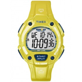 TIMEX Iroman 38mm Yellow Rubber Strap T5K684